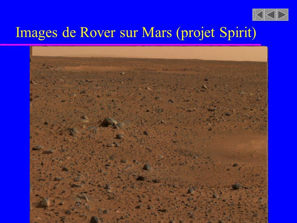 Images de Rover sur Mars (projet Spirit)