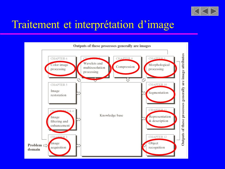 Traitement et interprétation dimage