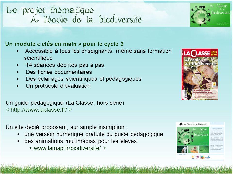 Un guide pédagogique (La Classe, hors série) Un site dédié proposant, sur simple inscription : une version numérique gratuite du guide pédagogique des