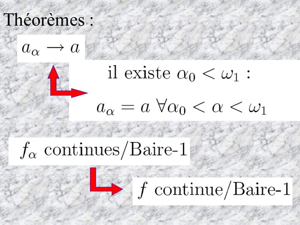 W. Sierpi ński (1920) : Convergence transfinie de suites et fonctions