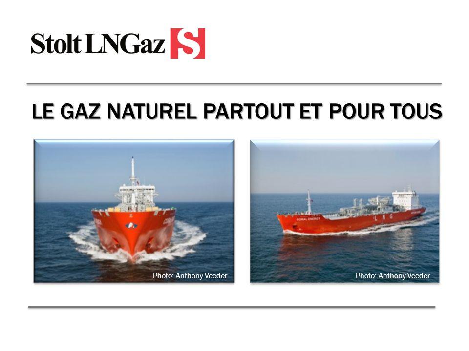 L E GAZ NATUREL PARTOUT ET POUR TOUS Photo: Anthony Veeder