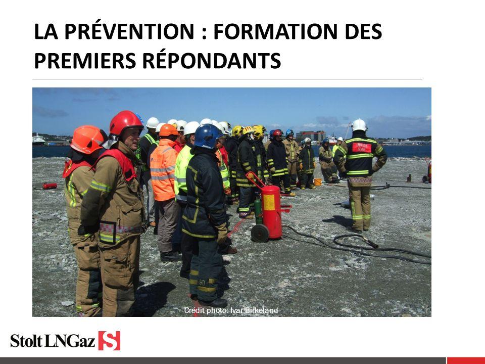 LA PRÉVENTION : FORMATION DES PREMIERS RÉPONDANTS Crédit photo: Ivar Birkeland