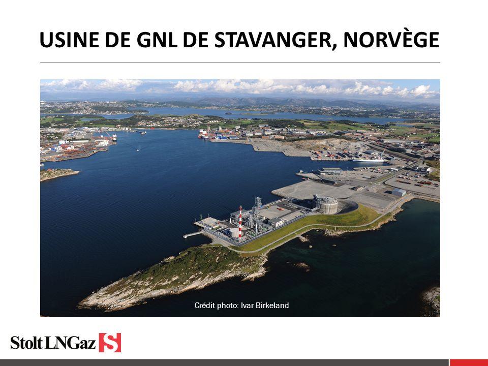 USINE DE GNL DE STAVANGER, NORVÈGE Crédit photo: Ivar Birkeland