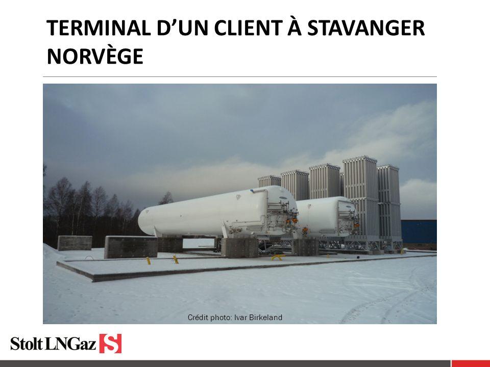 TERMINAL DUN CLIENT À STAVANGER NORVÈGE Crédit photo: Ivar Birkeland