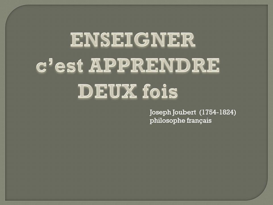 Joseph Joubert (1754-1824) philosophe français