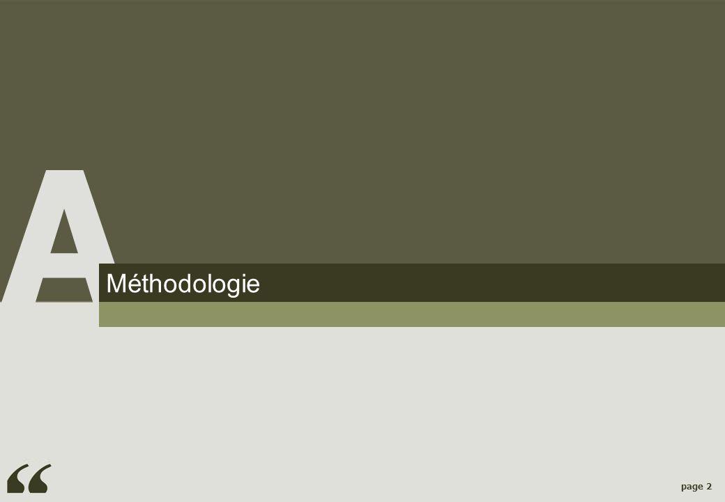 page 2 Méthodologie A