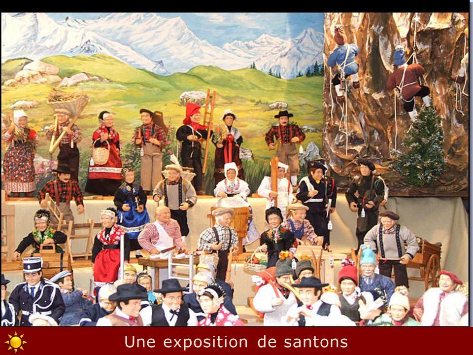 Une exposition de santons