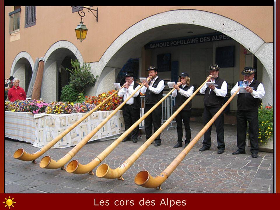 Les cors des Alpes
