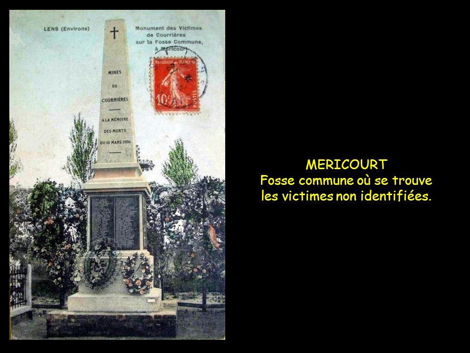 Suivant le compte rendu de lingénieur Heurteau, la liste des victimes comprend 1056 Français et 43 Belges, soit au total 1099 victimes.