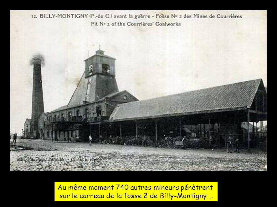 Samedi 10 mars 1906, il est 5h du matin : 520 mineurs arrivent sur le carreau de la fosse 3 de Méricourt.