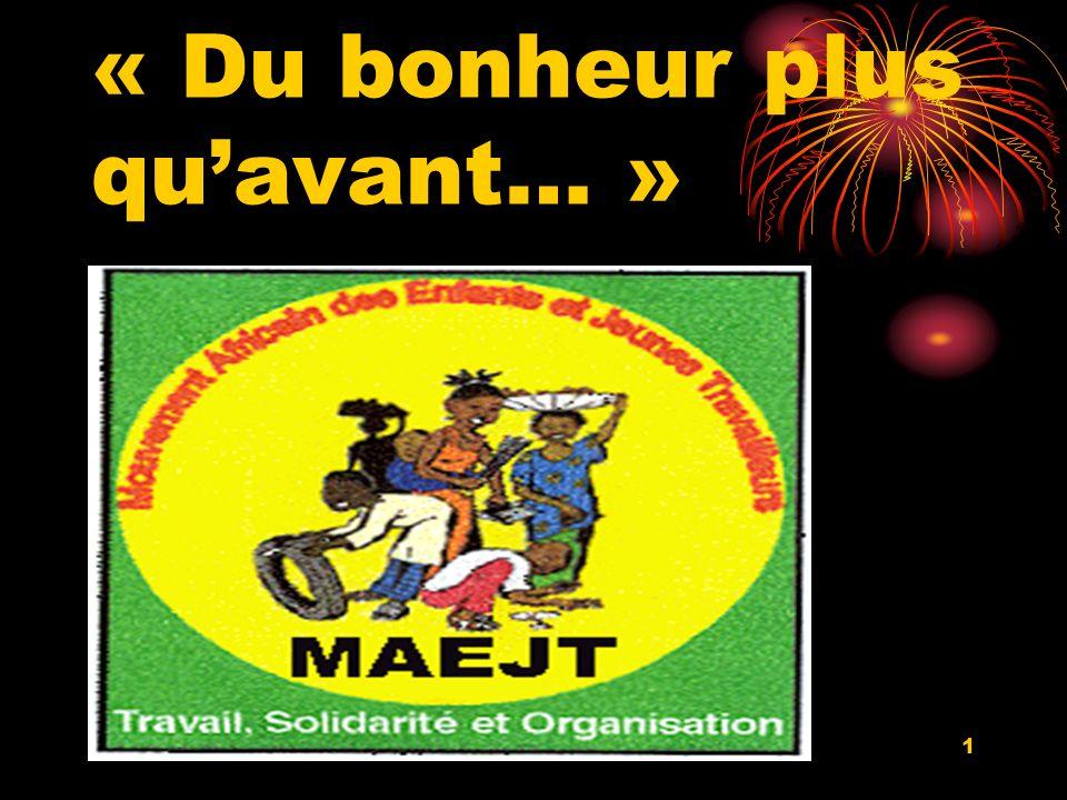 21/11/081 « Du bonheur plus quavant… »