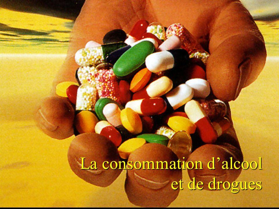 Groupe Écobes, 1998 «Aujourdhui, les jeunes du Saguenay Lac-St-Jean» La consommation dalcool et de drogues