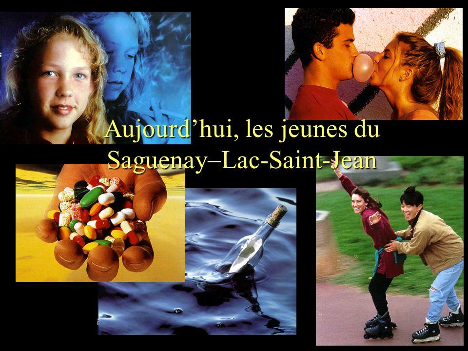Groupe Écobes, 1998 «Aujourdhui, les jeunes du Saguenay Lac-St-Jean» Aujourdhui, les jeunes du Saguenay Lac-Saint-Jean