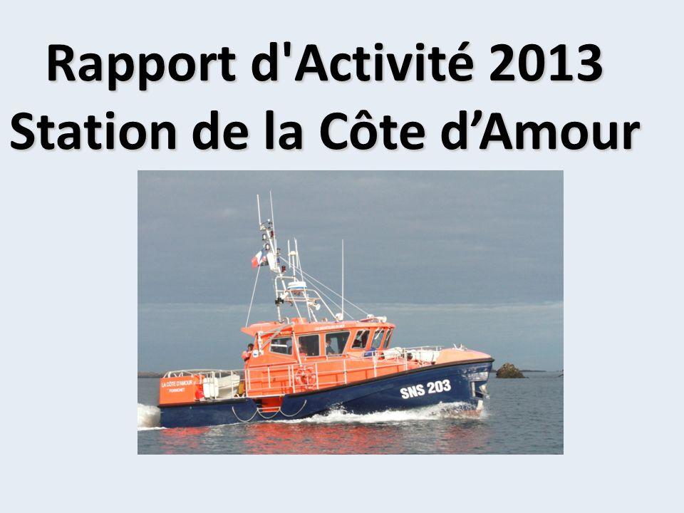 Rapport d Activité 2013 Station de la Côte dAmour