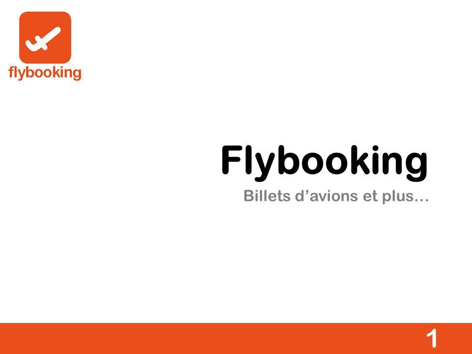 Billets davions et plus… 1 Flybooking