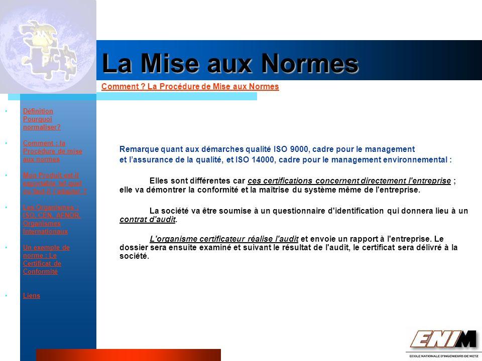 Propriété Industrielle La Mise aux Normes Comment .