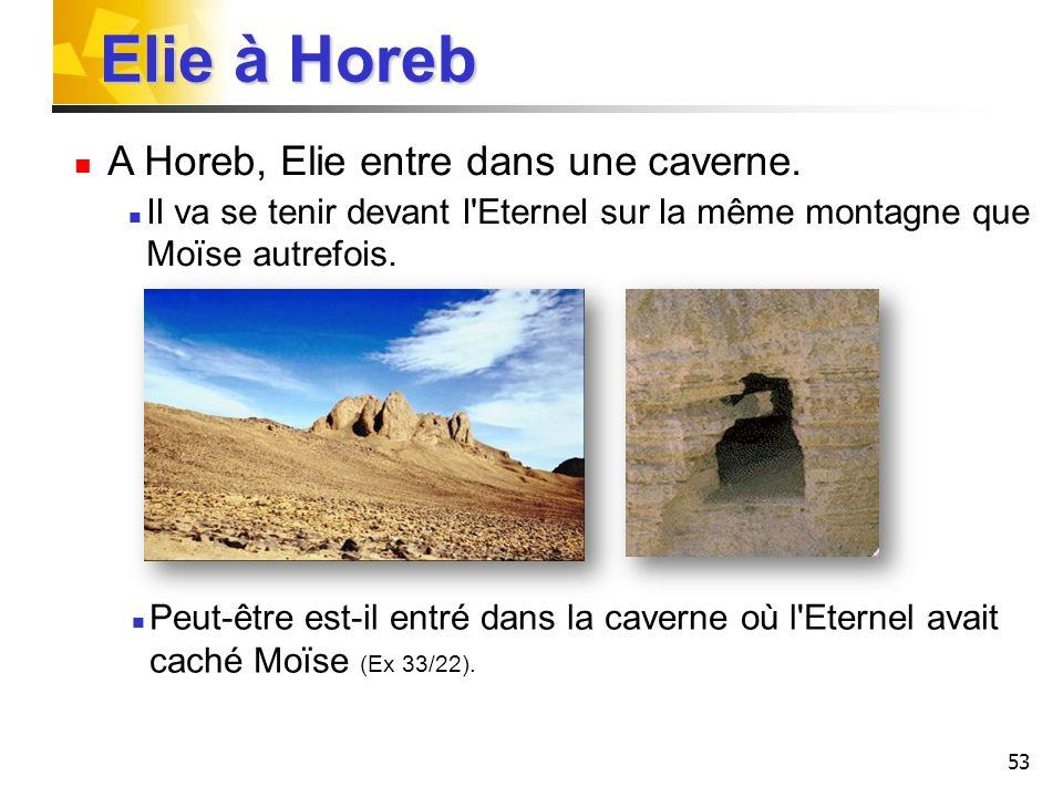 54 Plus de 800 ans plus tard, Elie va se trouver avec Moïse sur une montagne avec le Seigneur Jésus pour parler de sa mort.