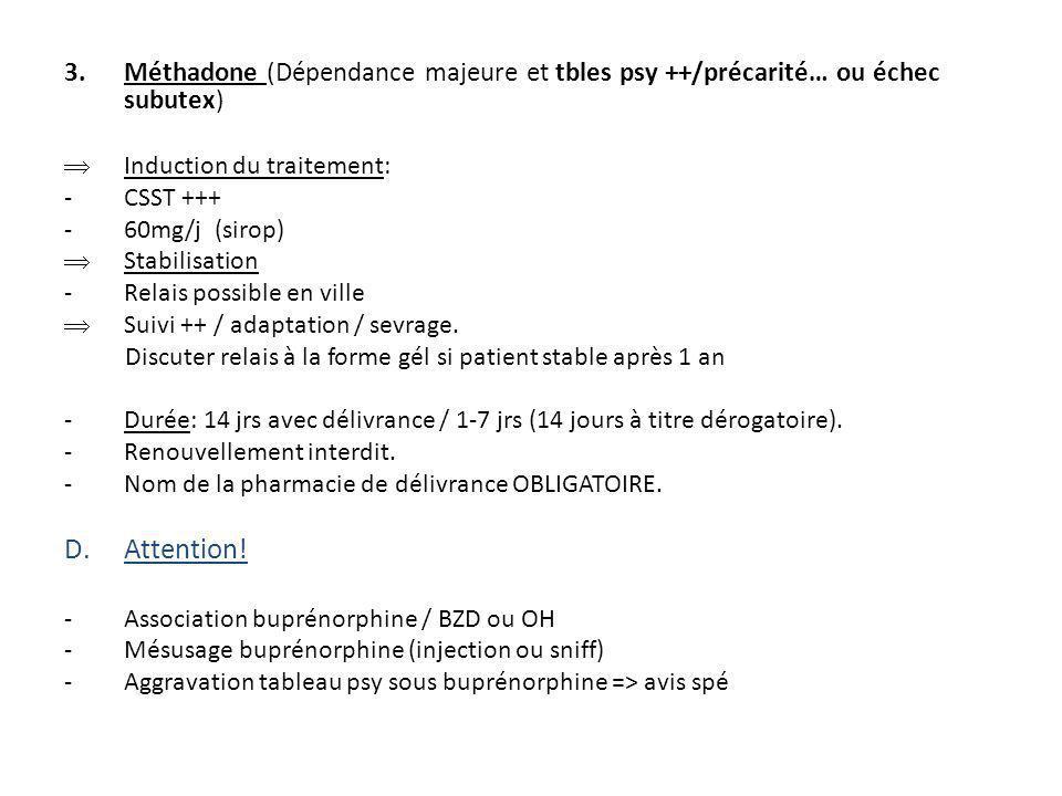 Bibliographie « stratégies thérapeutiques pour les personnes dépendantes des opiacés: place des traitements de substitution ».