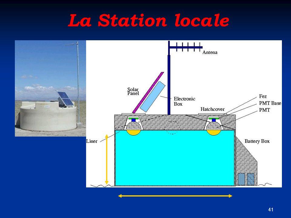 41 La Station locale