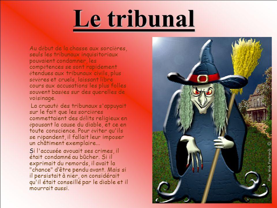 Au départ… Les premiers procès pour sorcellerie sont apparus vers 1460 dans le comté d'Arras. Cette vague d'arrestations a porté à la connaissance des