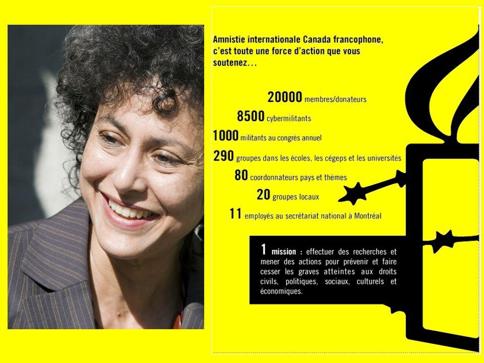 faisant campagne contre les violences faites aux femmes et en attirant lattention sur les conséquences pour les femmes en matière de propagation du VIH ; Amnistie internationale contribue aux initiatives en faveur de la prévention en :
