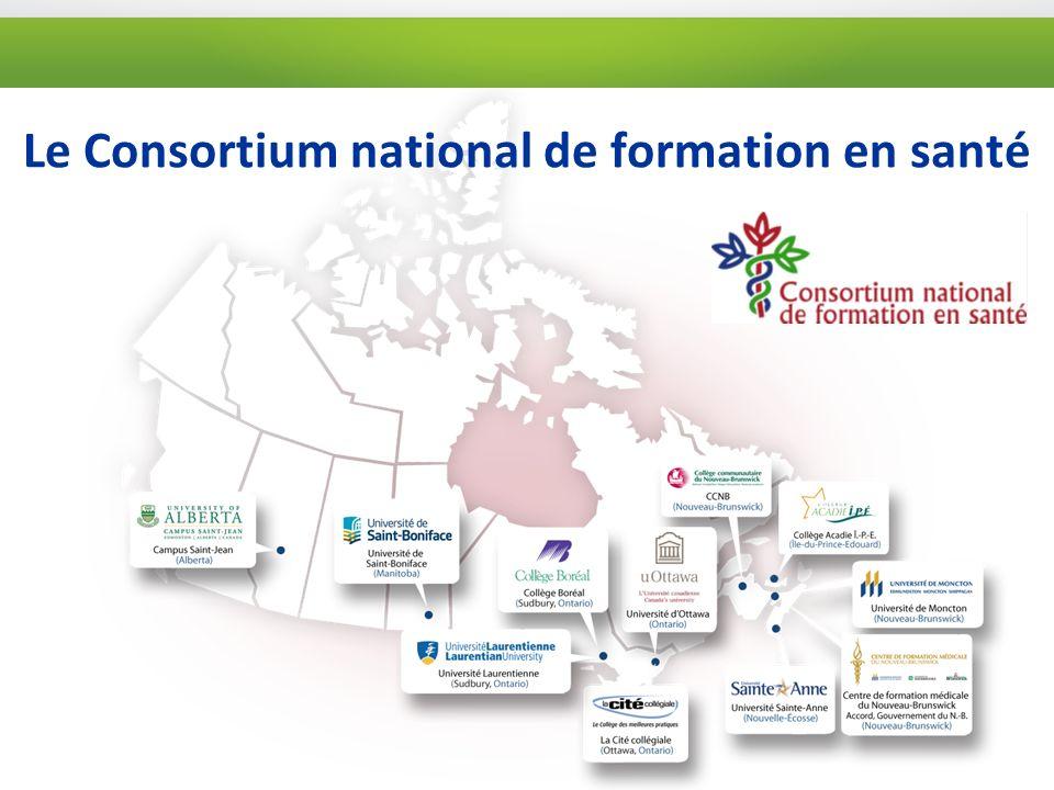 Le Consortium national de formation en santé