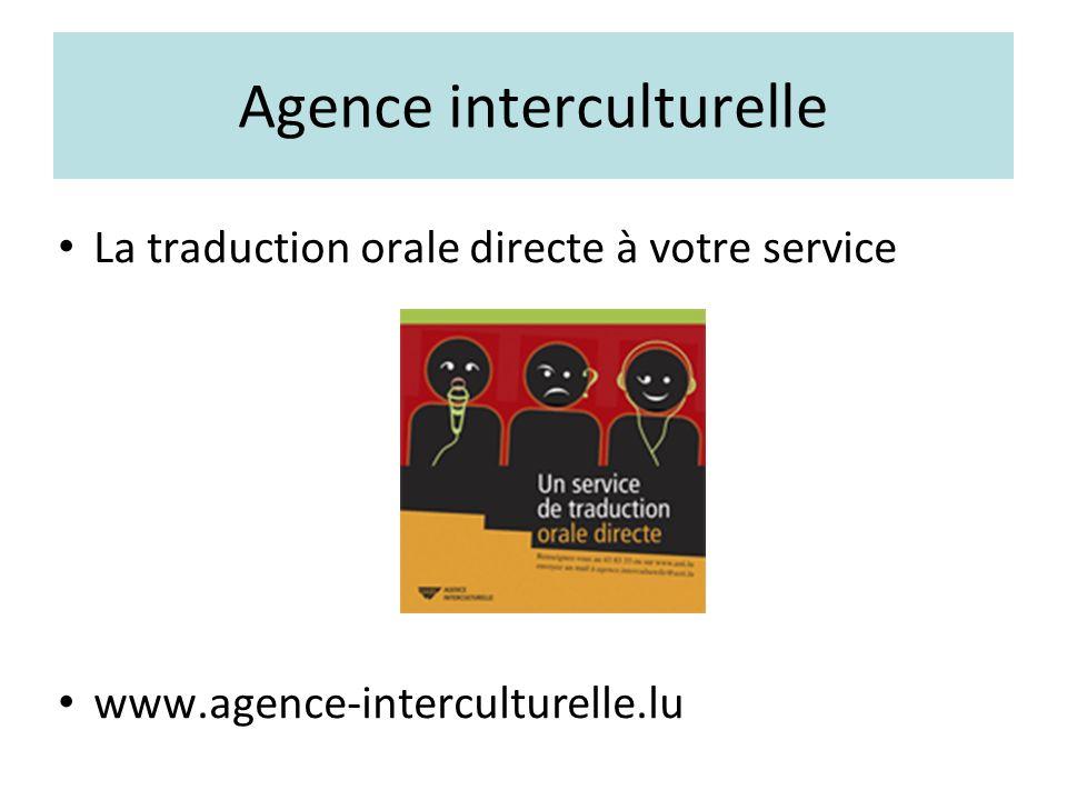 « Lëtzebuergesch » comme langue dintégration Livre et pins www.agence-interculturelle.lu