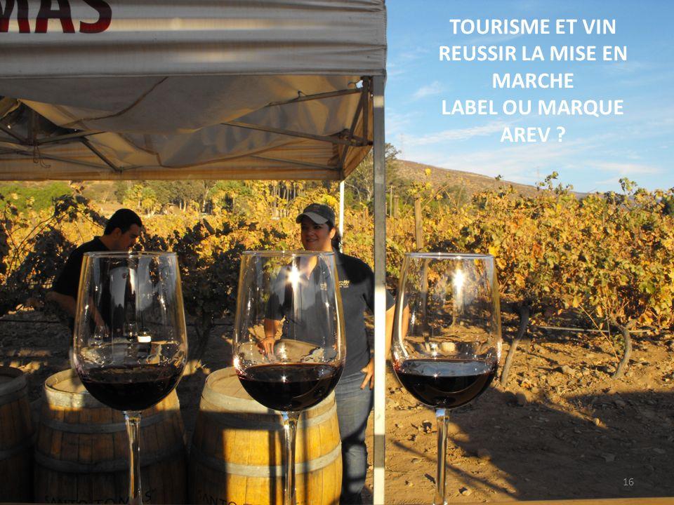Avant toute démarche technique, fonctionnelle et juridique, toute procédure de LABELLISATION doit sappuyer sur les principes suivants : Une région viticole et ses territoires doivent ils être considérés comme un produit au même titre que leurs vins .