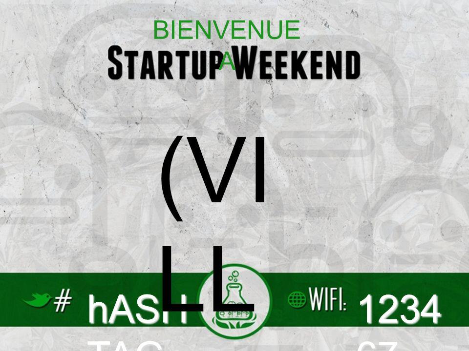hASH TAG 1234 67 (VI LL E) BIENVENUE A