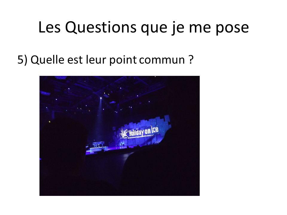 Réponses aux Questions que je me pose 1)Surya Bonaly, Philippe Candeloro, Sarah Abitbol & Stéphane Bernadis.