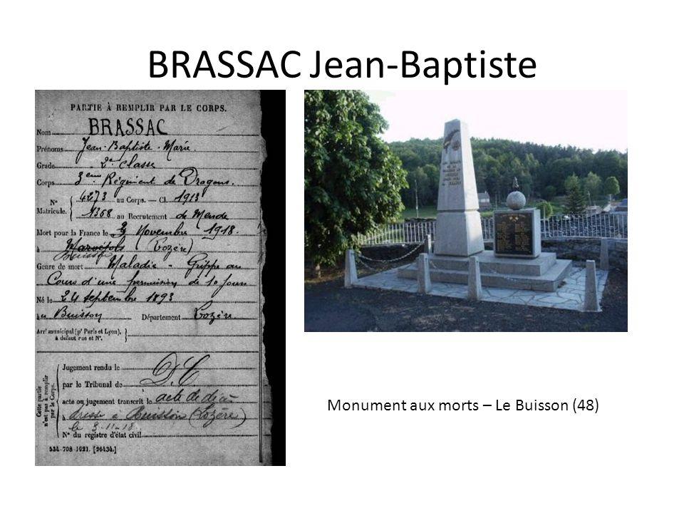 BRETHOME Ernest Monument aux morts à Apremont ( 85)