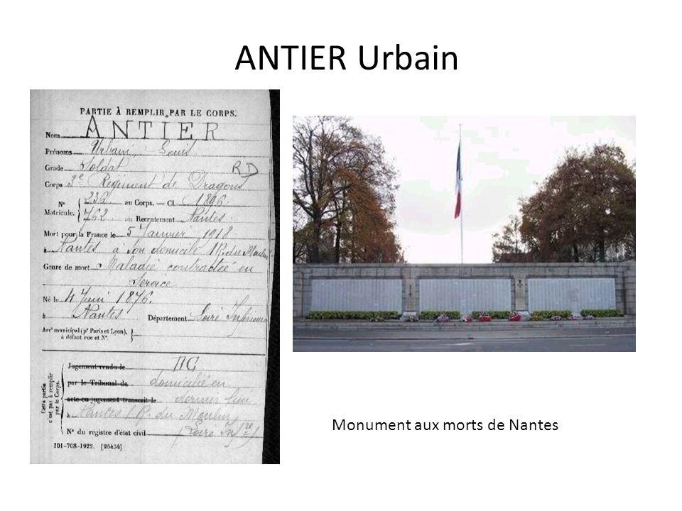 AUNEAU Jean Carré militaire de Saint-Nazaire