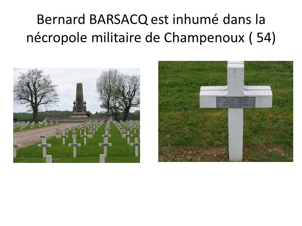 BASTIAND Anthelme Nécropole de Catenoy Monument aux morts de Cressein-Rochefort