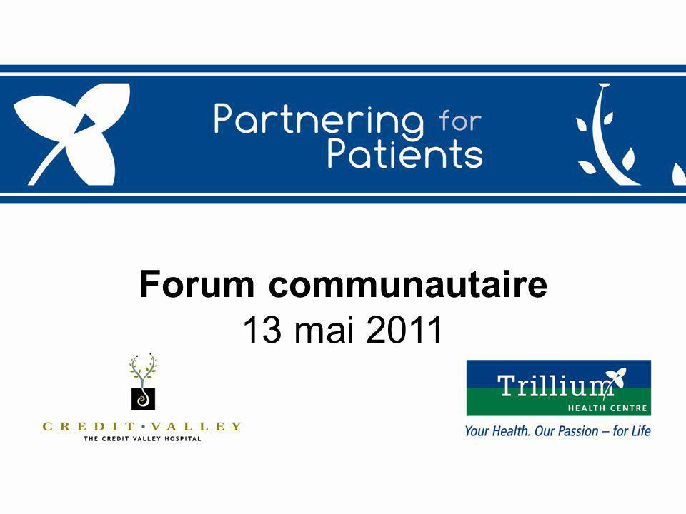 1 Forum communautaire 13 mai 2011