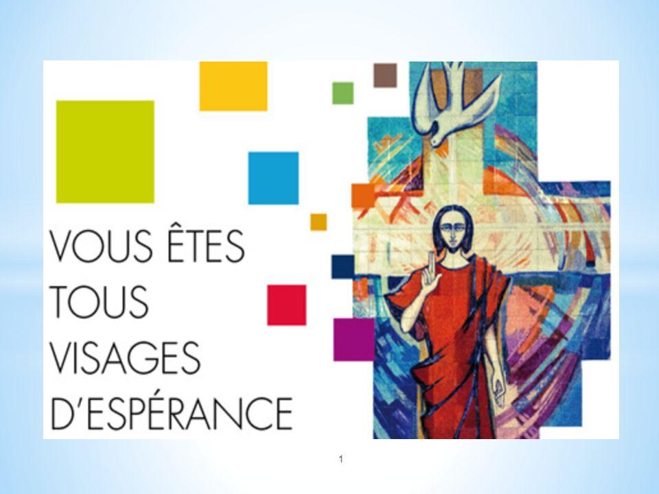 22 Les enfants de la Catéchèse et les jeunes qui préparent la Confirmation Lespérance (chrétienne) « Seigneur, quand nous est-il arrivé de t avoir vu étranger et de t avoir accueilli .