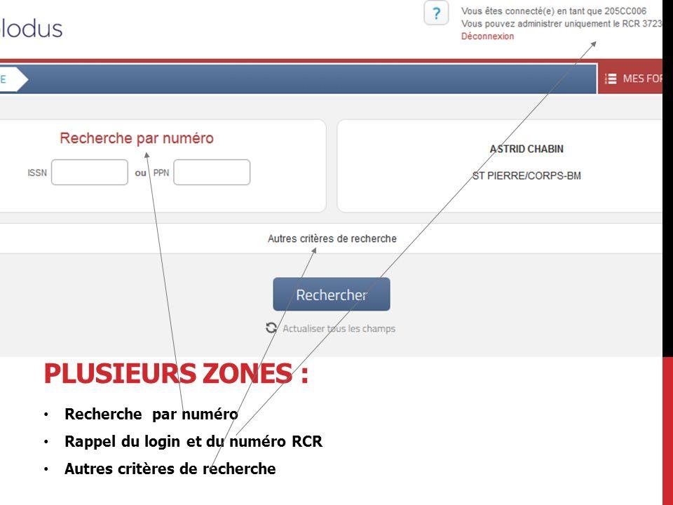 LA CRÉATION DE DONNÉES LOCALES Exemple : la zone L035 Cette zone peut être utilisée pour la saisie du numéro de la notice bibliographique dans le système local