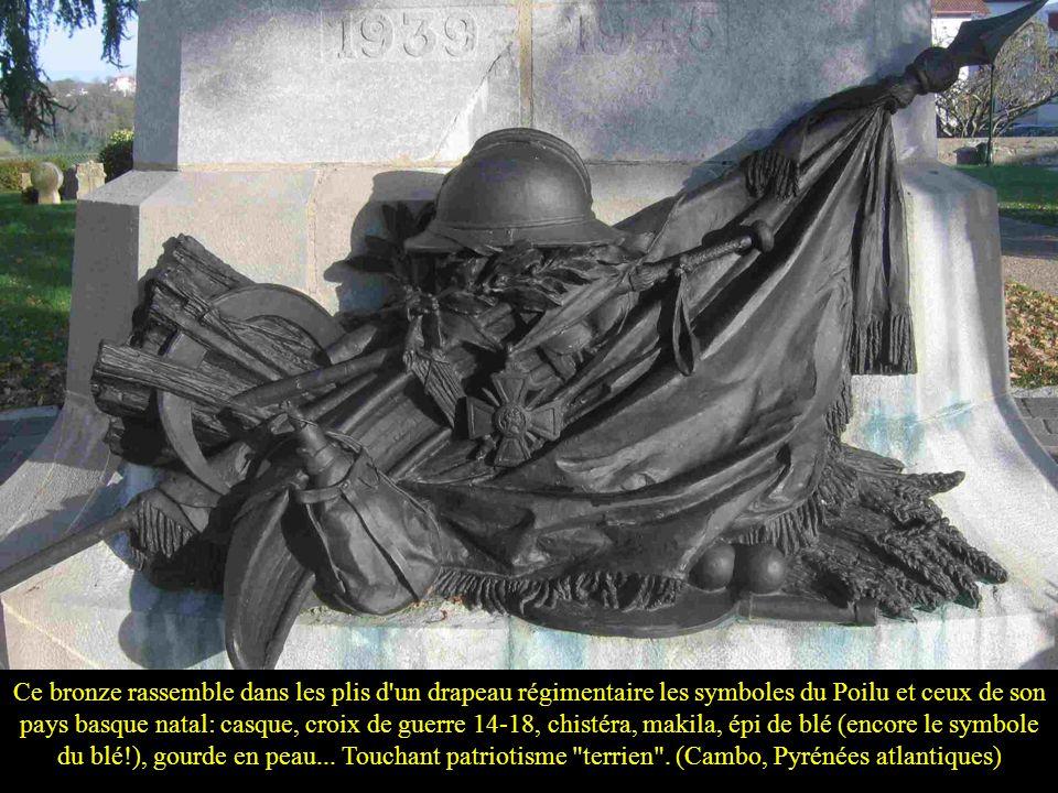 Et même s'il n'est pas dans un cimetière, il affiche le symbole religieux de nos racines… (Rennes, Doubs)