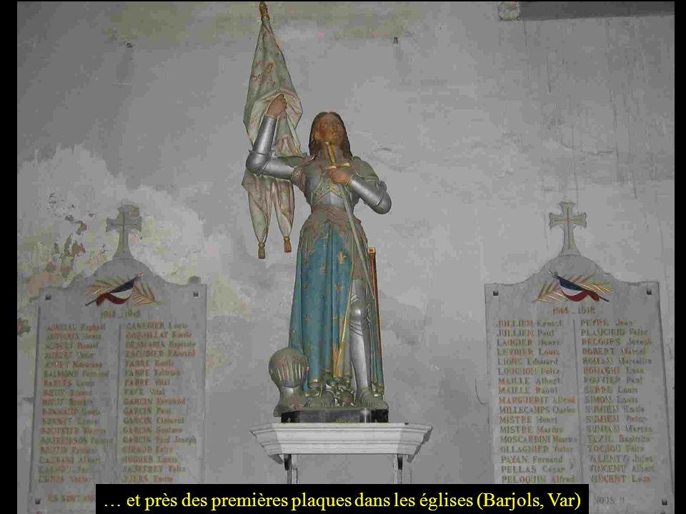 Jeanne dArc, souvent représentée… à Eguisheim (Haut Rhin)