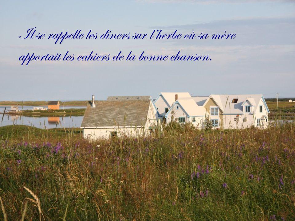 Les Îles de la Madeleine, cest à fleur de peau.