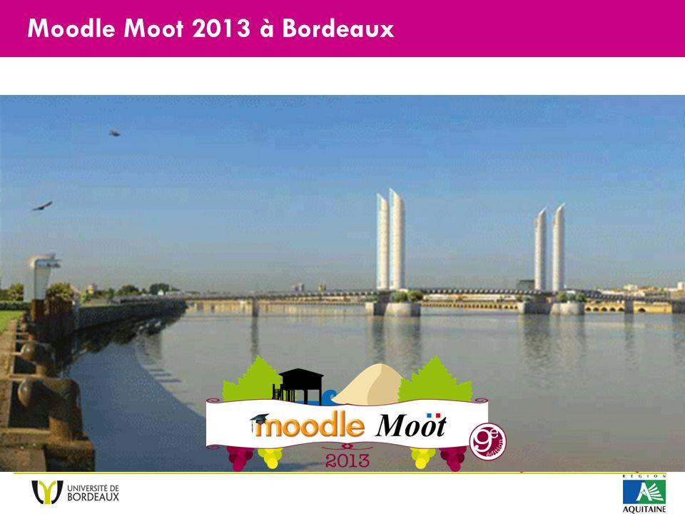 La Victoire pour le Moodle Moot 2013 à Bordeaux