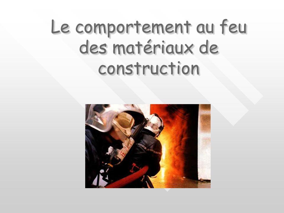 CONCEPTION xxxxxxx FIA SPV INCENDIE COMPORTEMENT ET REACTION AU FEU Réalisation : cal GIRAUD Durée 1h