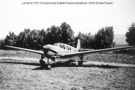 Le Nord 1101 Noralpha de Gratien Faure acheté en 1949 (Didier Faure)