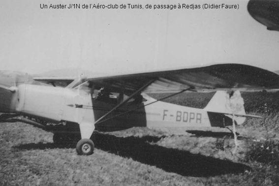 Un Auster J/1N de lAéro-club de Tunis, de passage à Redjas (Didier Faure)