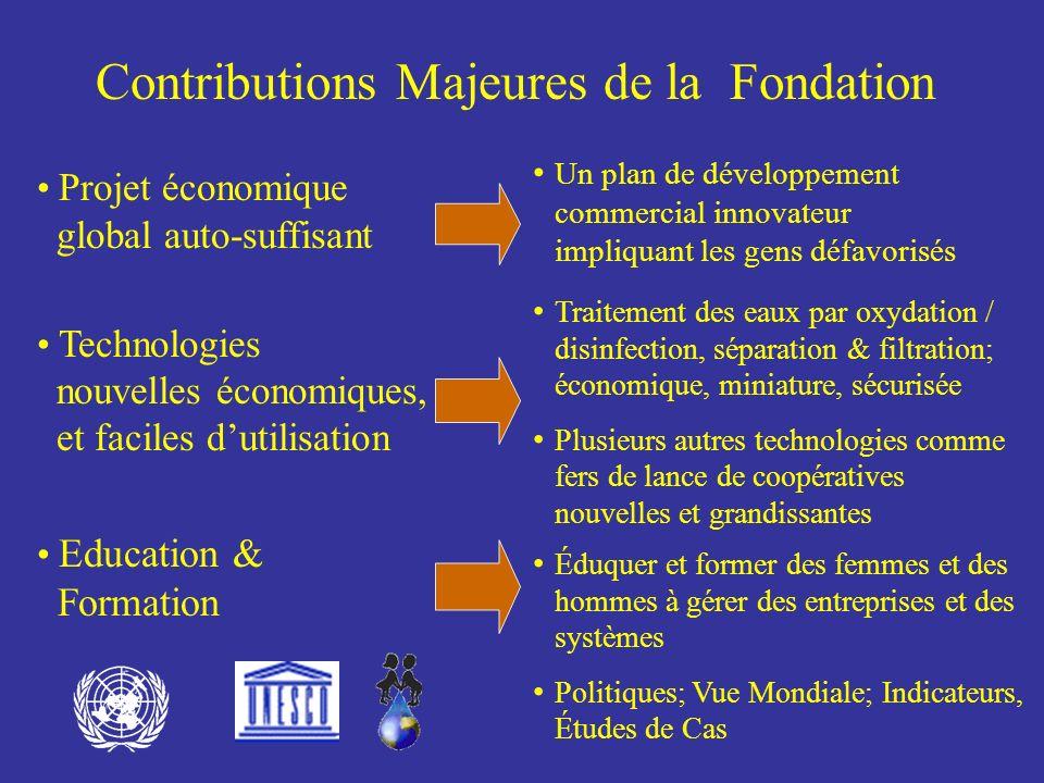 Autres considérations majeures Lapplication des édits des fondateurs de la Programme Hydrologique International (IHP) UNESCO systèmes dagences et de conventions internationales Voué au programme à long terme, mis en place par les NATIONS UNIES
