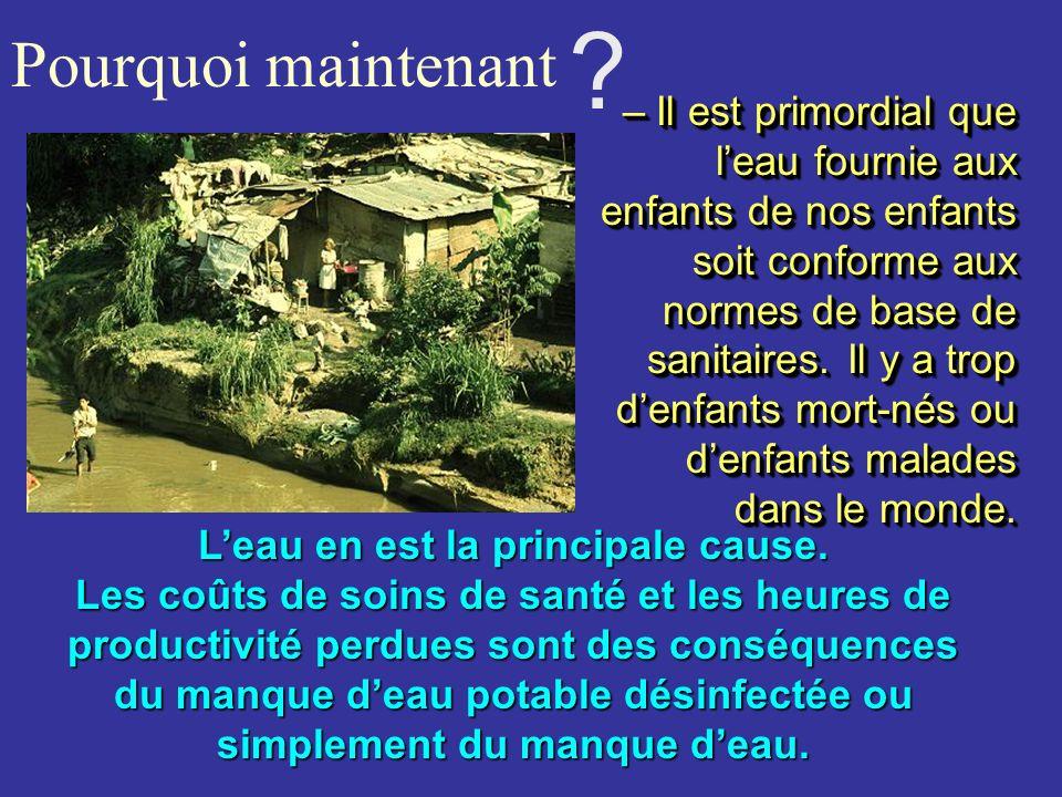Opportunités Les Villages et Hameaux là où les abris sont insalubres ou inexistants, sans eau potable ni eau usée traitée, ou dépourvus de service dhy