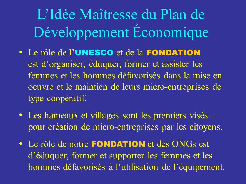 LIdée Maîtresse du Plan de Développement Économique solutions appliquer ces solutions pour résoudre les désastres écologiques Apporter des solutions a