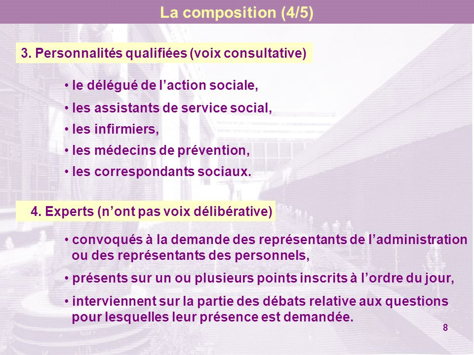 Le vote (suite) 2.