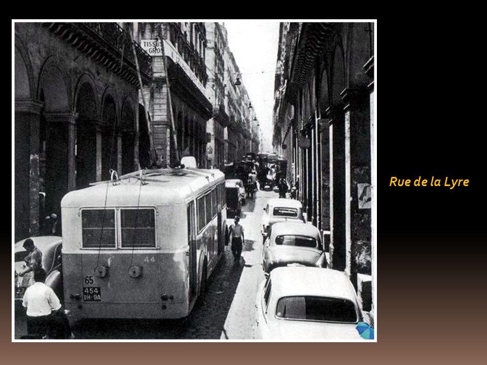 Rue Michelet dans les années 30