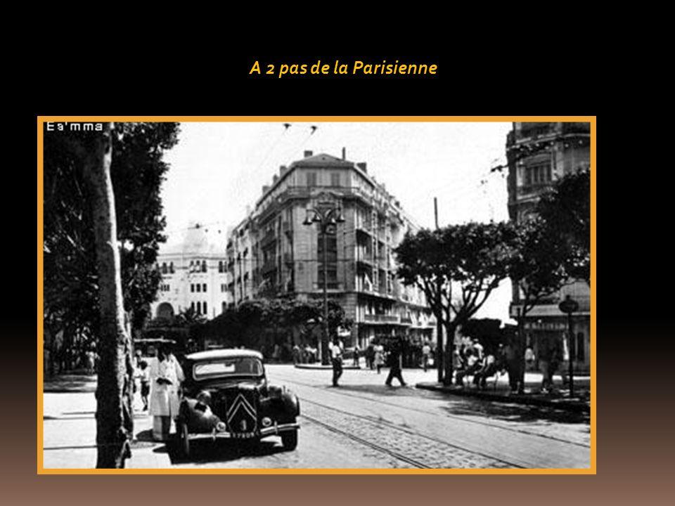 A 2 pas de la Parisienne