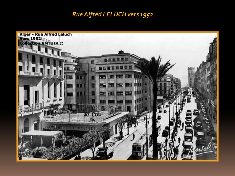 Rue Alfred LELUCH vers 1952